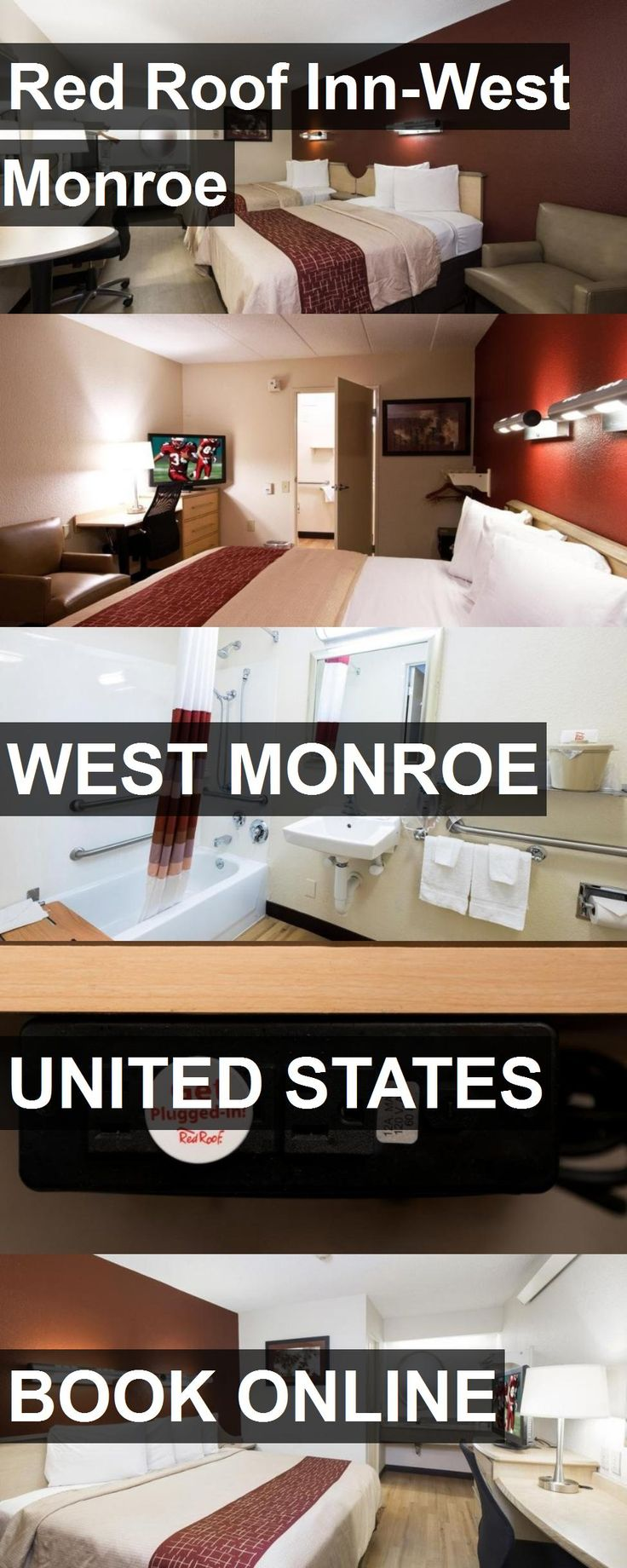 Hotel Red Roof Inn-West Monroe in West Monroe, United States. For more information, photos, reviews and best prices please follow the link. #UnitedStates #WestMonroe #RedRoofInn-WestMonroe #hotel #travel #vacation
