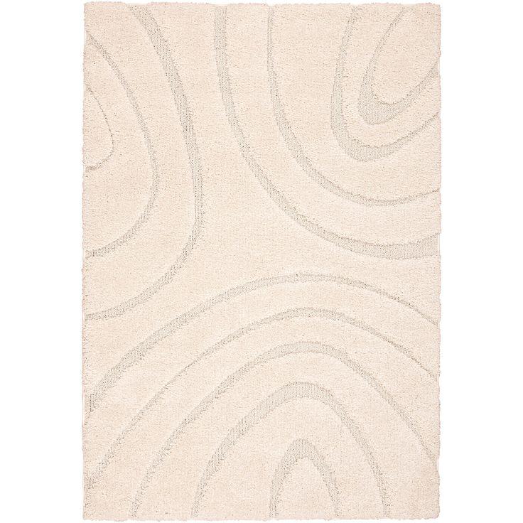 Nourison Austin White Shag Area Rug (6u00277 X 9u00276) (