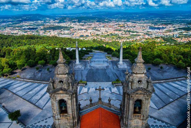 Santuario do Sameiro en Braga | Turismo en Portugal #braga #sameiro #portugal