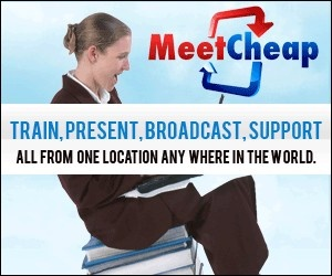 Why MeetCheap?  Quite simply because we're 1/10th the price of our competition; while providing a ROCK SOLID, reliable and intuitive web conferencing solution.http://www.meetcheap.com/?id=svisw1