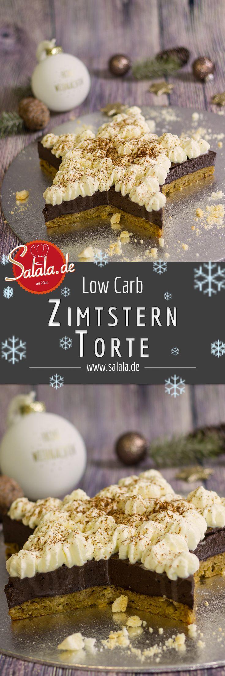 Passend zum Nikolaus haben wir eine Low Carb Zimtsterntorte gebastelt. Natürlich ist die Zimtsterntorte glutenfrei, ohne Zucker und ohne Mehl gebacken. Lass Dir diesen leckeren Zimtstern schmecken und genieße die Adventszeit.