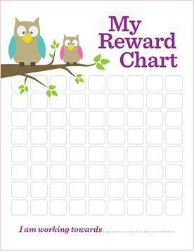 Reward Chart for older children