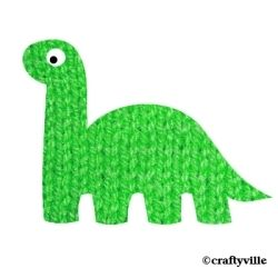 Free dinosaur knitting patterns. Dinosaurs arent just for kids, even tho...