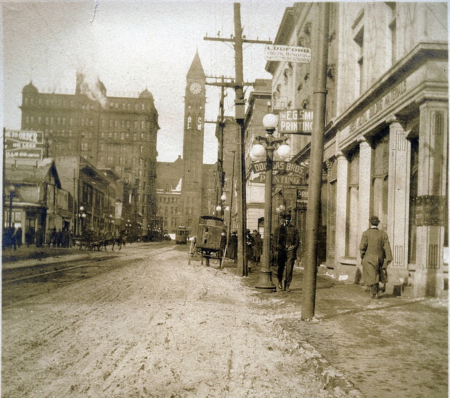City Buildings Toronto 1912