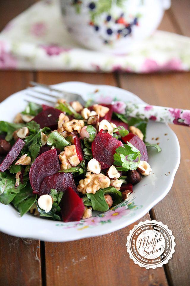 Kırmızı Pancar Salatası (Cevizli Fındıklı) | Mutfak Sırları
