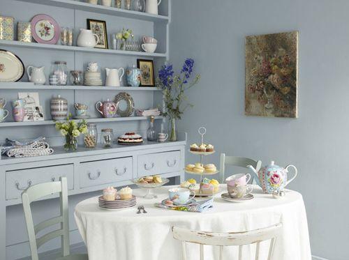 Tea Table In Tea Room | ... +Chic+dining+Room+