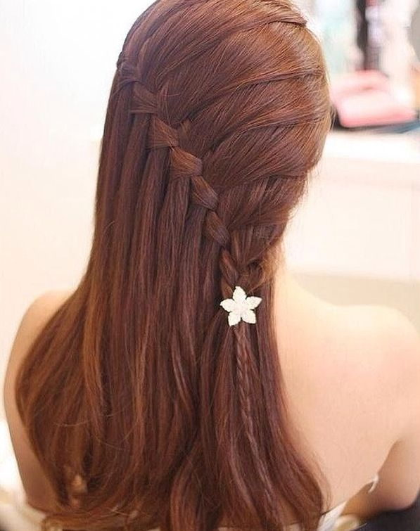 Here is a cute, braided hair style that can be worn to a lot of places.