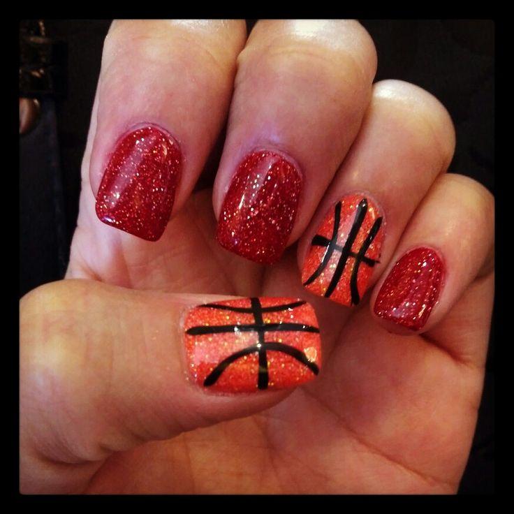 Best 25 basketball nails ideas on pinterest cal basketball basketball nails prinsesfo Choice Image