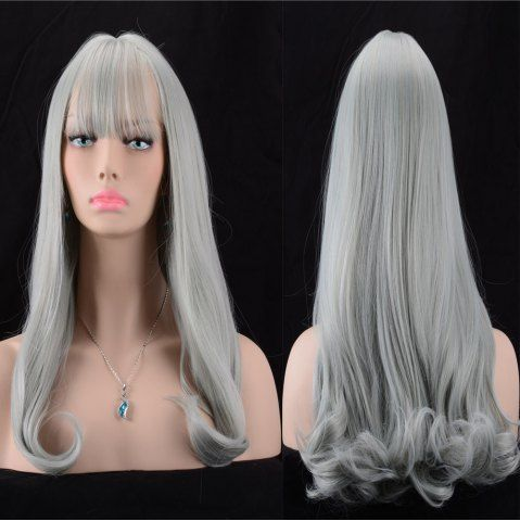 GET $50 NOW | Join RoseGal: Get YOUR $50 NOW!http://www.rosegal.com/synthetic-wigs/long-fluffy-full-bang-slightly-961578.html?seid=7434598rg961578