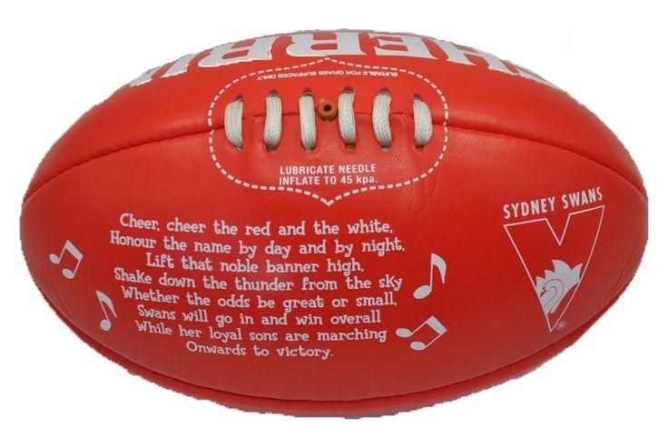 Sydney Swans Team Song Ball