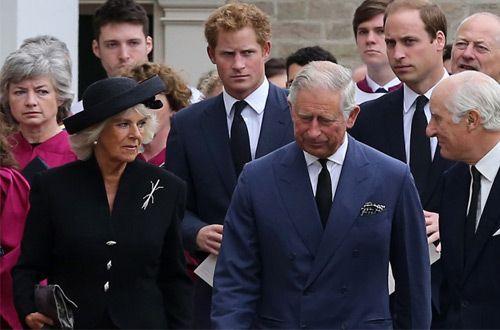 Принц Гарри не королевских кровей— так считает Камилла Паркер-Боулз