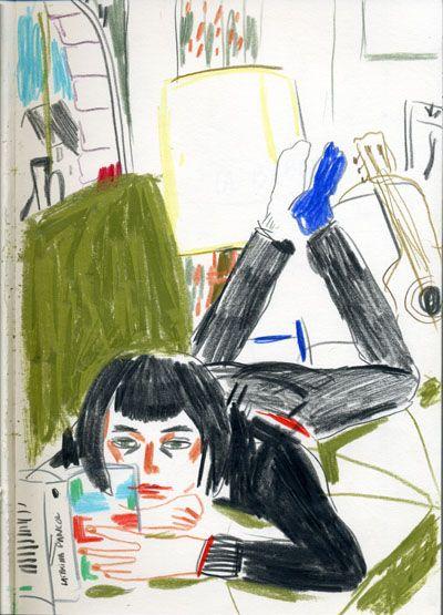 Edith Carron: April 2012 - Mo lit