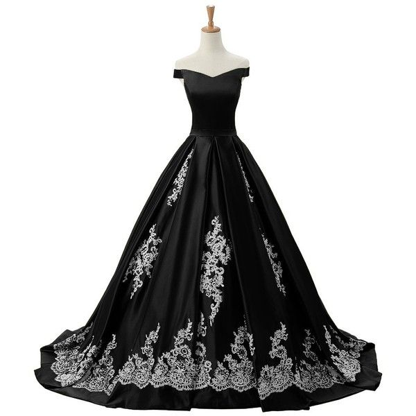 Sunvary 2016 Cap Sleeves Ball Gown Appliques Quinceanera Prom Dresses... ($220) ❤ liked on Polyvore featuring dresses, gowns, gown, cap sleeve short dress, applique dress, reception dresses, reception gowns and cap sleeve evening gown