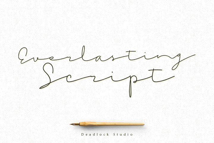 Everlasting Script from FontBundles.net                                                                                                                                                                                 More