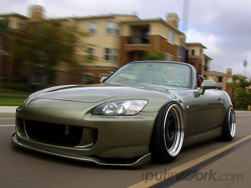 yet another s2000, super low to the ground