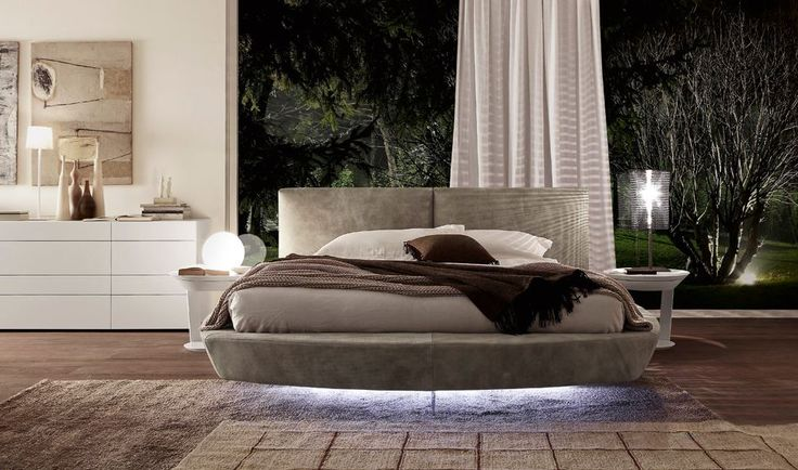 This is no illusion it's a beautifully upholstered 'floating' bed. To Pimp your bed just add under bed lights!