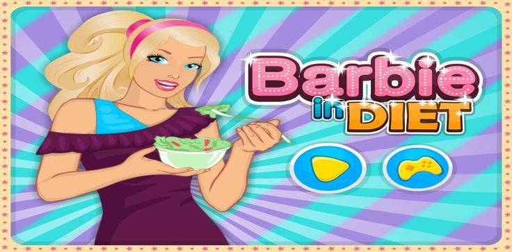 Czas odstawić fast-foody i niezdrową żywność. Barbie zaczyna dbać o siebie i zdrowo się odżywiać. http://www.ubieranki.eu/gry/3794/barbie-na-diecie.html