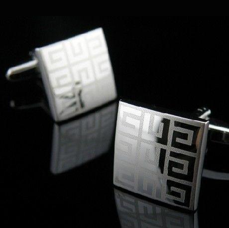 Cufflinks s řeckým znakem. Nádherné manžetové knoflíčky určené jak pro svatbu tak také pro sváteční příležitost.