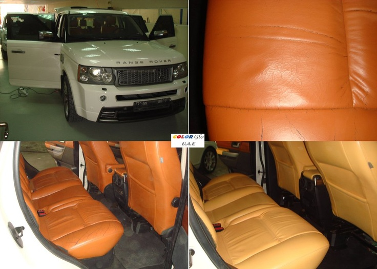 Range Rover  interior change by Color Glo