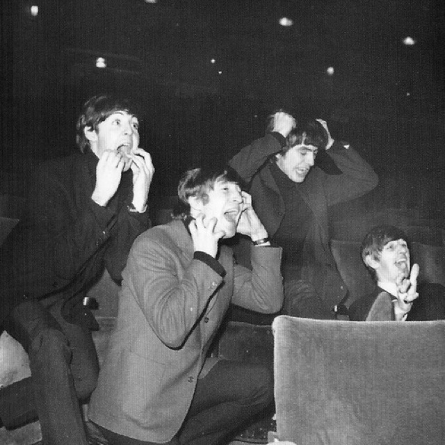 The Beatles.: The Beatles, Music, Thebeatles, Fans, Fab, Beatle Mania, Beatlemania, Beatles Imitating, Photo