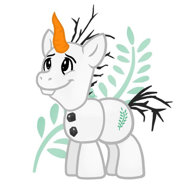 Never seen a MLP Olaf.... Methinks I kinda like it!