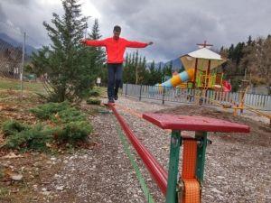 Slack line, Εκπαιδευτικό Πάρκο