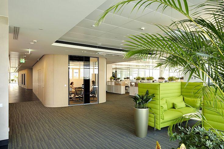 Дизайн интерьера комнаты отдыха в офисе