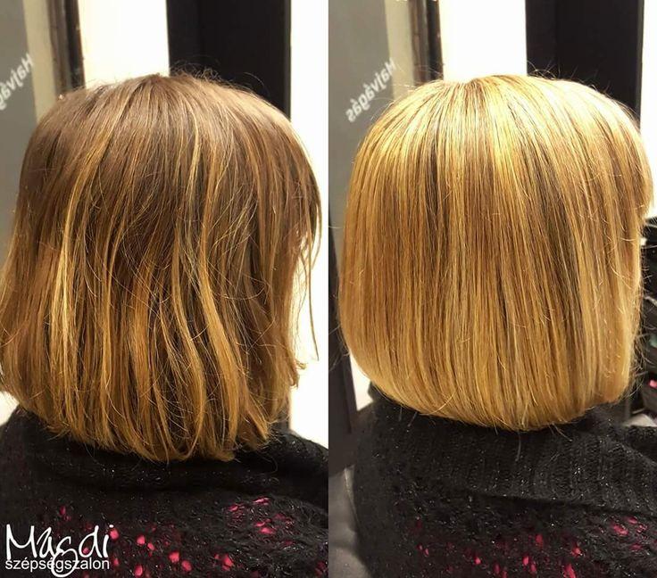 Azt mondják, hogy jön a hideg. Egy rövid bob frizura a sapka alatt is kényelmes :)  www.magdiszepsegszalon.hu  #hairstyle #hair #hairfasion #bobhair #haj #széphaj #bobhaircut #bobhaj #festettbob ️#hairstyle #hair #hairfasion #haj #festetthaj #coloredhair #széphaj #szépségszalon #beautysalon #fodrász #hairdresser #ilovemyhair #ilovemyjob❤️ #haircut #cut