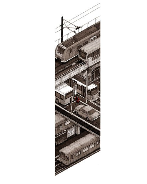 Isometric cross-sections and other drawings by Evan Wakelin – SOCKS