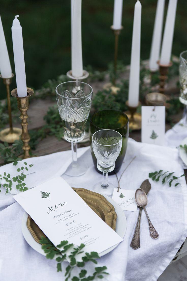 Fern stationery from loveprints.pl botanic wedding invitations