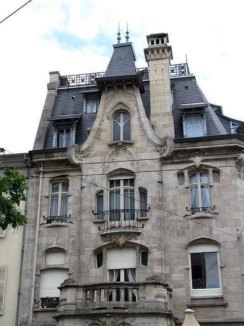 Art Nouveau house, Maison du Dr Jacques (1905), Nancy, France