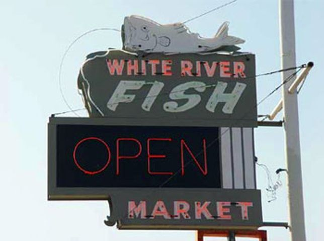 White River Fish Market - I would never eat fish anywhere else. Yvonne