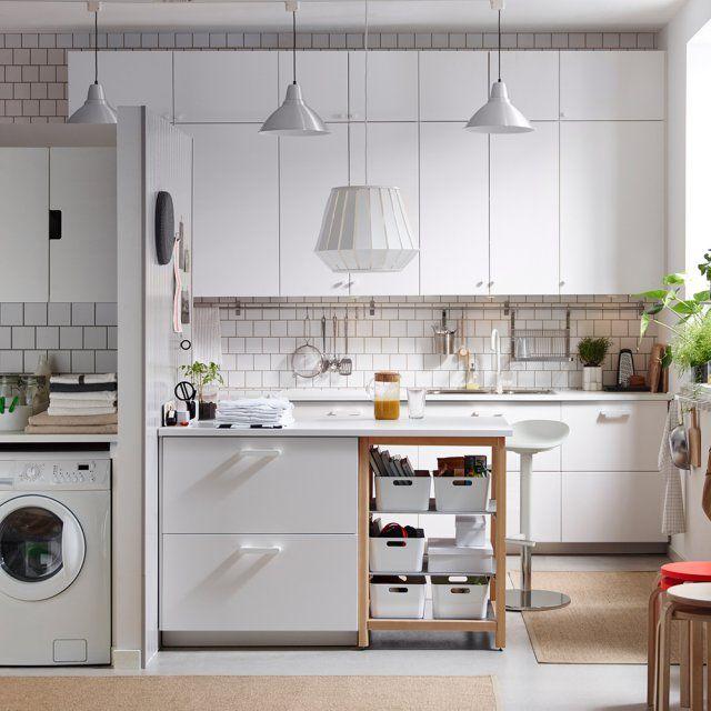 10 images about cuisines kitchens on pinterest coins - Coin repas dans cuisine ...