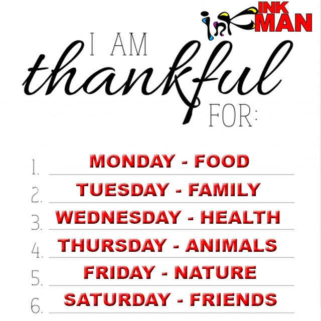 Challenge yourself to be more grateful for everyday things we take for granted #FunForAll http://bit.ly/1Y4mXQF