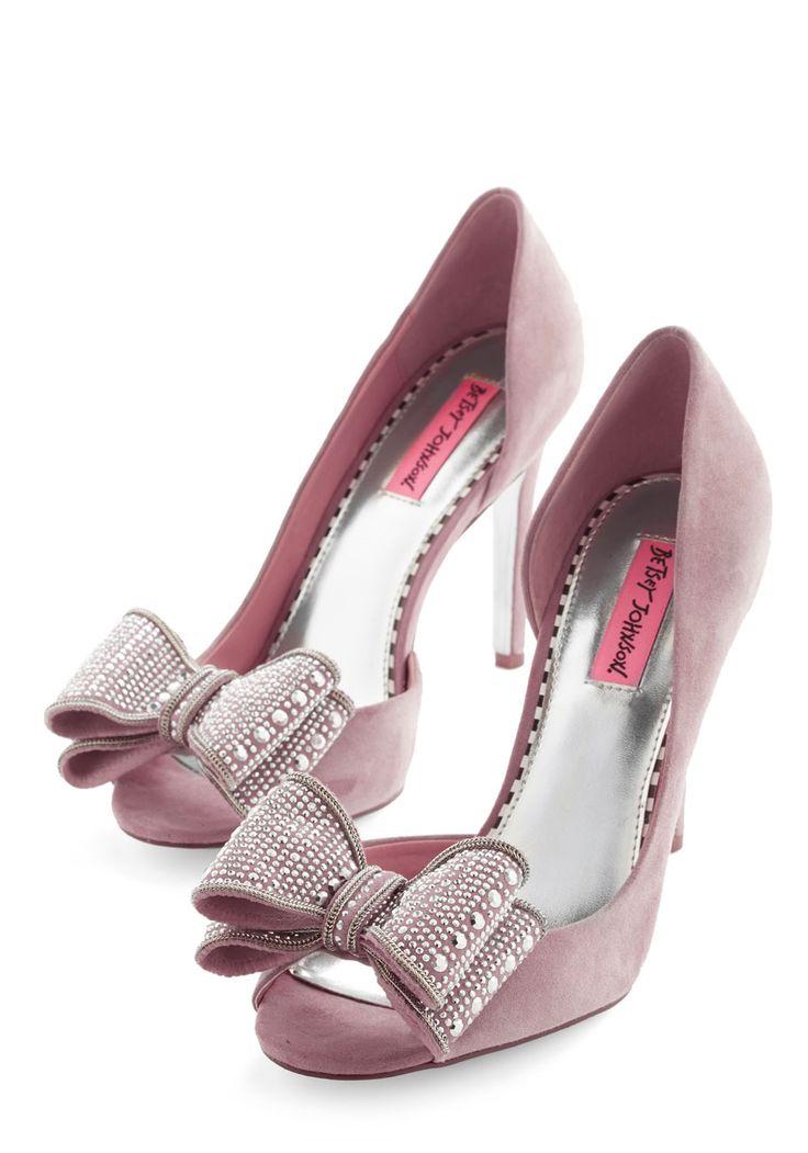 Betsey Johnson Exquisite Stride Heel, #ModCloth