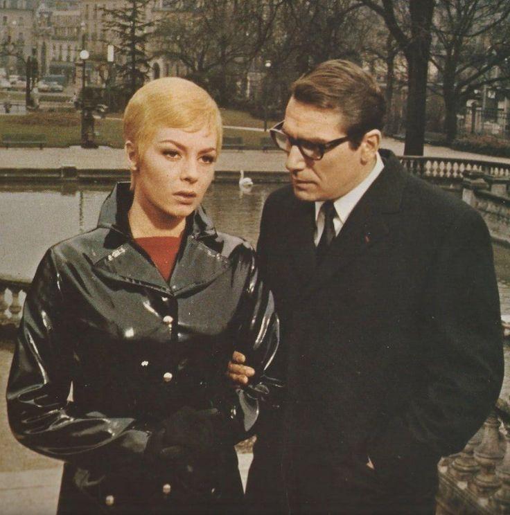 Michèle Mercier, Robert Hossein.