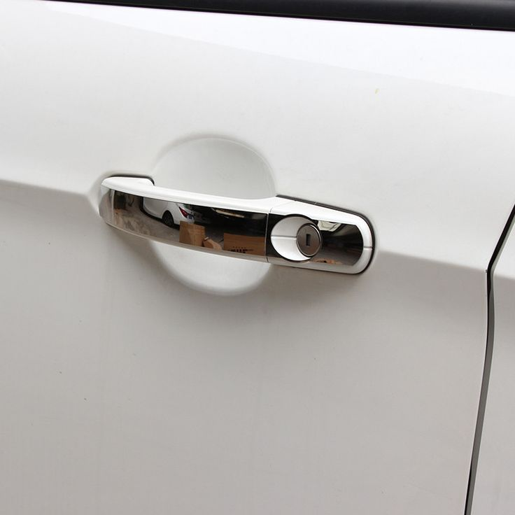 Stainless Steel Door Handle Cover Door Protection Covers Sticker For Ford Focus 2 2005-2012 For Focus 3 2012 -2014 Accessories