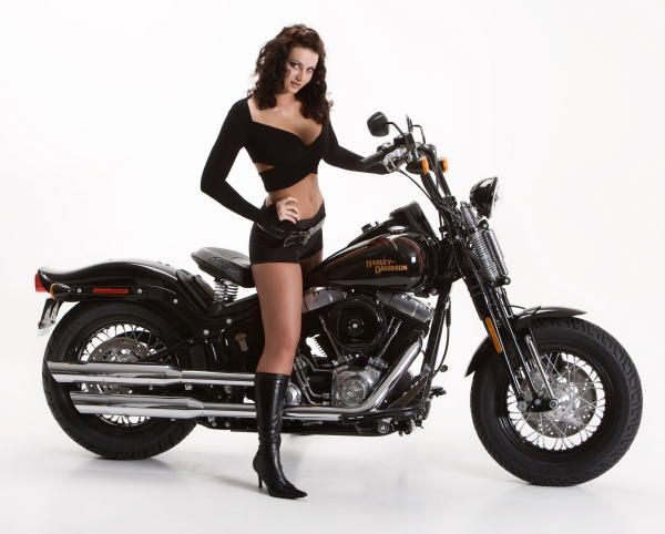 2008 Harley-Davidson FLSTSB Softail® Cross Bones™ and Cover Model Juliet
