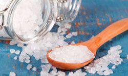Is sea salt low in sodium?