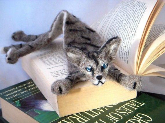 Splat bookmark your cat as a Custom bookmark by BenMcfuzzylugs