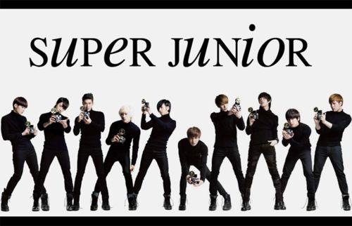 Super Junior! I remember them!