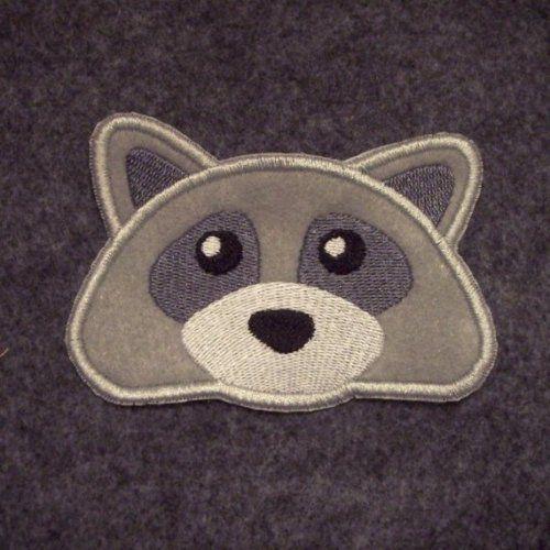 Raccoon Face Outline  ...