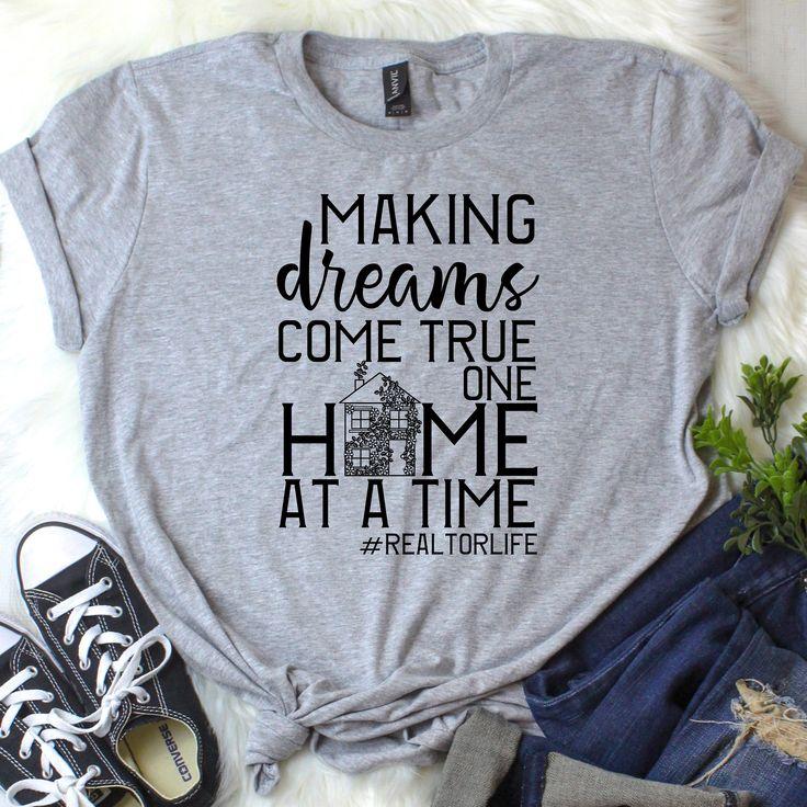 Realtor Shirt — Realtor glitter tshirt — Real Estate shirt — Real Estate t shirt — New Agent Gift — Closing Gift — Realtor Gift