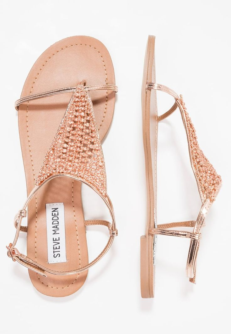 CHASITY - Tongs - rose gold. Steve Madden ...