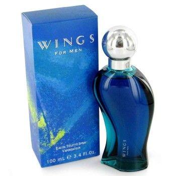 Giorgio Beverly Hills Wings voor Heren is een fougère aromatische geur voor mannen. De topnoten zijn lavendel, groene noten, neroli, bergamot en citroen. De middennoten zijn koriander, salie, jasmijn, lelietje-van-dalen en geranium. De basisnoten zijn tonkaboon, amber, muskus, eikenmos en cederhout. Giorgio Beverly Hills Wings is uitgebracht in 1994.
