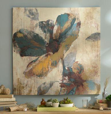 Abstract Aqua Canvas at Kirkand Home $49.98