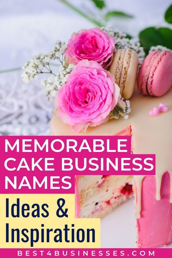 505 Bakery Names Ideas Logos How To Name Your Bakery Cake