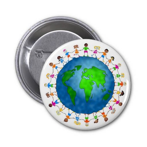 Global Kids Buttons