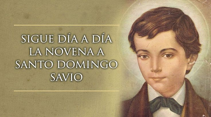 Domingo Savio nació Italia en 1842, es patrono de los niños cantores y también de las embarazadas por haber cumplido en su vida una misión de la Virgen María.