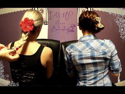 ASMR Hair Brushing